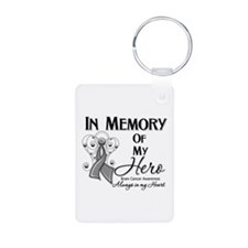 In Memory Brain Cancer Keychains