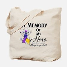 In Memory Bladder Cancer Tote Bag