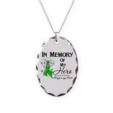 In Memory Bile Duct Cancer Necklace