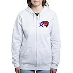 Tri-State Buffalos Women's Zip Hoodie