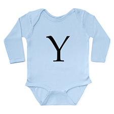 Y_Book_Antiqua_black.psd Long Sleeve Infant Bodysu