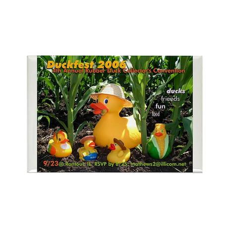 Duckfest 2006 Magnet