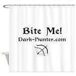 whitebm.jpg Shower Curtain