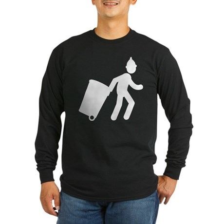 Waste Collector Long Sleeve Dark T-Shirt