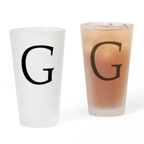 G_Book_Antiqua_black.psd Drinking Glass