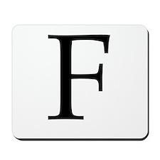 F_Book_Antiqua_black.psd Mousepad