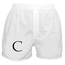 C_Book_Antiqua_black.psd Boxer Shorts