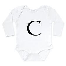 C_Book_Antiqua_black.psd Long Sleeve Infant Bodysu