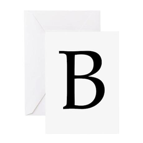 B_Book_Antiqua_black.psd Greeting Card