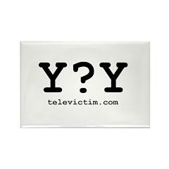 """Y?Y"" Rectangle Magnet (10 pack)"