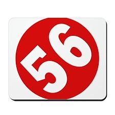 56 Logo Mousepad