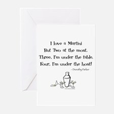 Martini Love! Greeting Cards (Pk of 10)