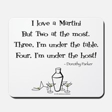 Martini Love! Mousepad