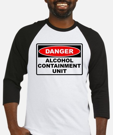 Alcohol Containment Baseball Jersey