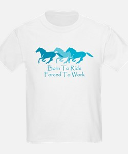 Forced To Work Kids T-Shirt