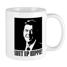 Shut up Hippie Small Mug