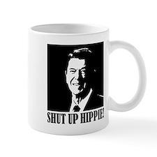 Shut up Hippie Small Small Mug