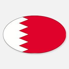 Bahrain Oval Decal