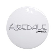 Airedale Owner Ornament (Round)