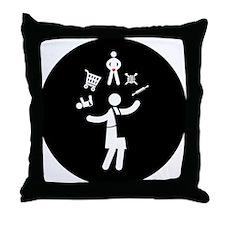 Home Maker Throw Pillow