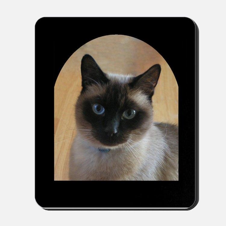 Cat Watching Mousepad