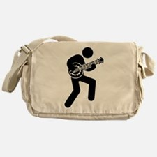Banjo Player Messenger Bag