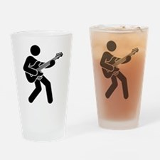 Bassist Drinking Glass