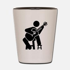 Classical Guitar Shot Glass