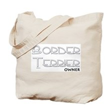 Border Terrier Owner Tote Bag