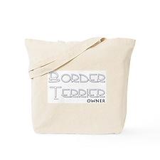 Border Terrier Owner Tote Bag