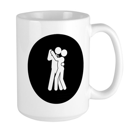 Ballroom Dancing Large Mug