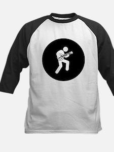 Banjo Player Kids Baseball Jersey