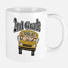 School Bus 2nd Grade Mug