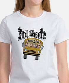 School Bus 2nd Grade Women's T-Shirt