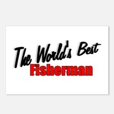 """the World's Best Fisherman"" Postcards (Package of"