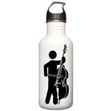 Double Bassist Water Bottle
