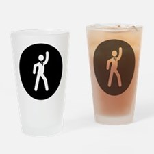 Disco Drinking Glass