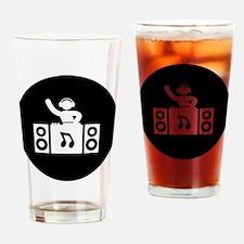 DJ Drinking Glass