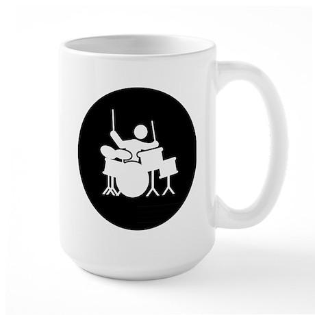 Drummer Large Mug