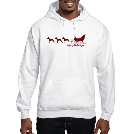 "MinPin ""Sleigh"" Hooded Sweatshirt"