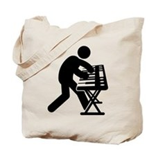 Keyboardist Tote Bag