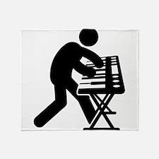 Keyboardist Throw Blanket