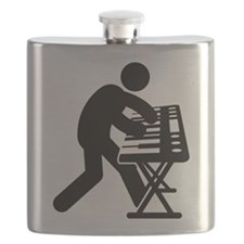 Keyboardist Flask
