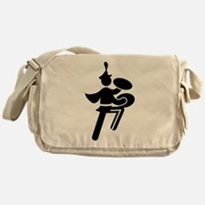 Bass Cymbal Messenger Bag