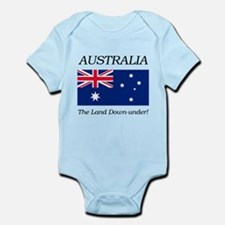 Australian Flag Infant Bodysuit