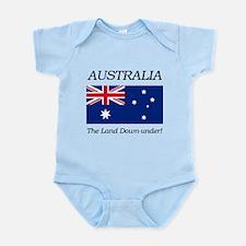 Australian Flag Onesie