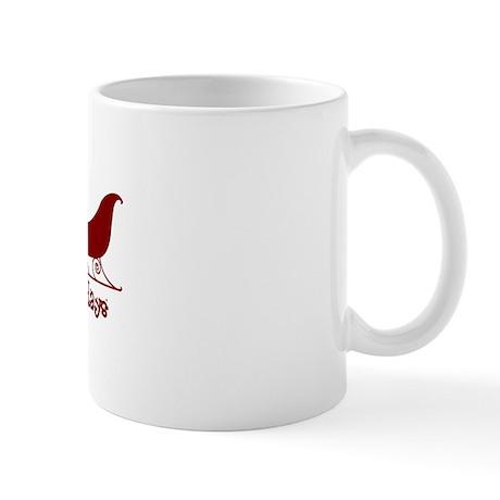 "Sheltie ""Sleigh"" Mug"