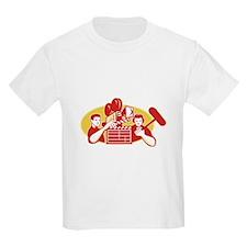 Film Director Movie Camera Clapper Soundman T-Shirt