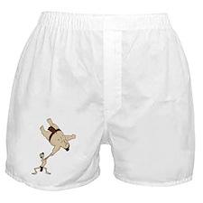 Funny Sumo Wrestler Boxer Shorts