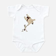 Funny Sumo Wrestler Infant Creeper